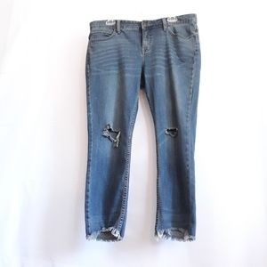 Free People distressed jeans, size 31
